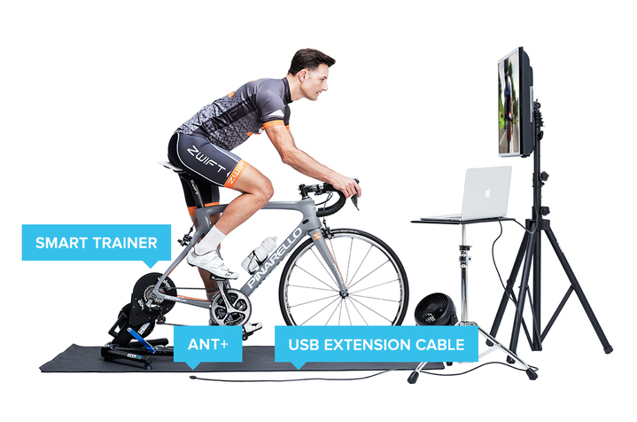 Zwift set up smart trainer 2017